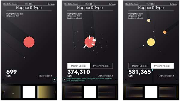 SPACEPLAN tente maintenant de percer les mystères de la galaxie sur iOS