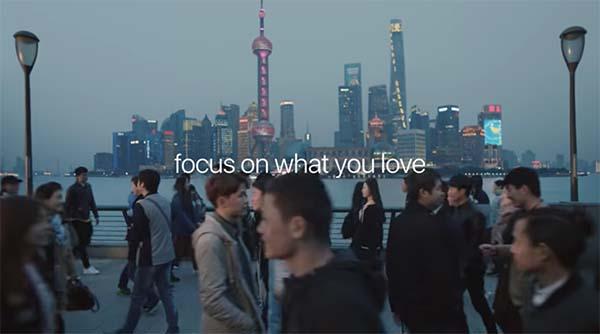 The City : Apple met en scène le mode portrait de l'iPhone 7 Plus dans son nouveau spot