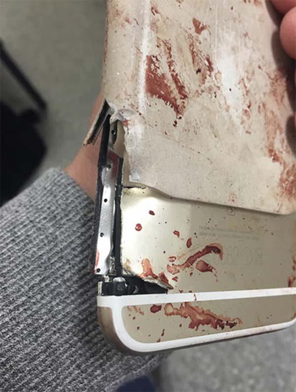 Un iPhone 6 Plus sauve la vie d'une femme lors de l'attentant de Manchester