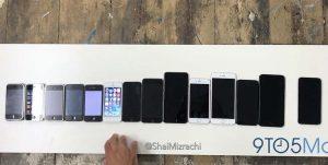 10 ans d'iPhone en une vidéo !