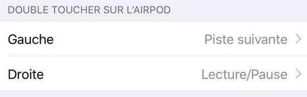 AirPods : de nouvelles gestuelles proposées avec iOS 11