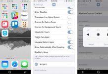 AlternateControls 2 apporte les boutons de contrôle Android dans iOS 10