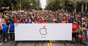 Apple a participé à la Gay Pride 2017 [Photos]