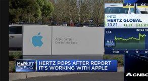 Apple dément le partenariat avec Hertz pour la conduite autonome