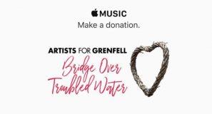 Apple lance un appel aux dons via Apple Music pour la tour Grenfell à Londres