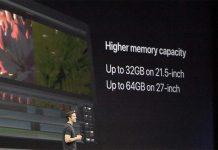 Apple met à jour ses iMac : processeurs kaby lake, Fusion Drive, SSD 50% plus rapides...