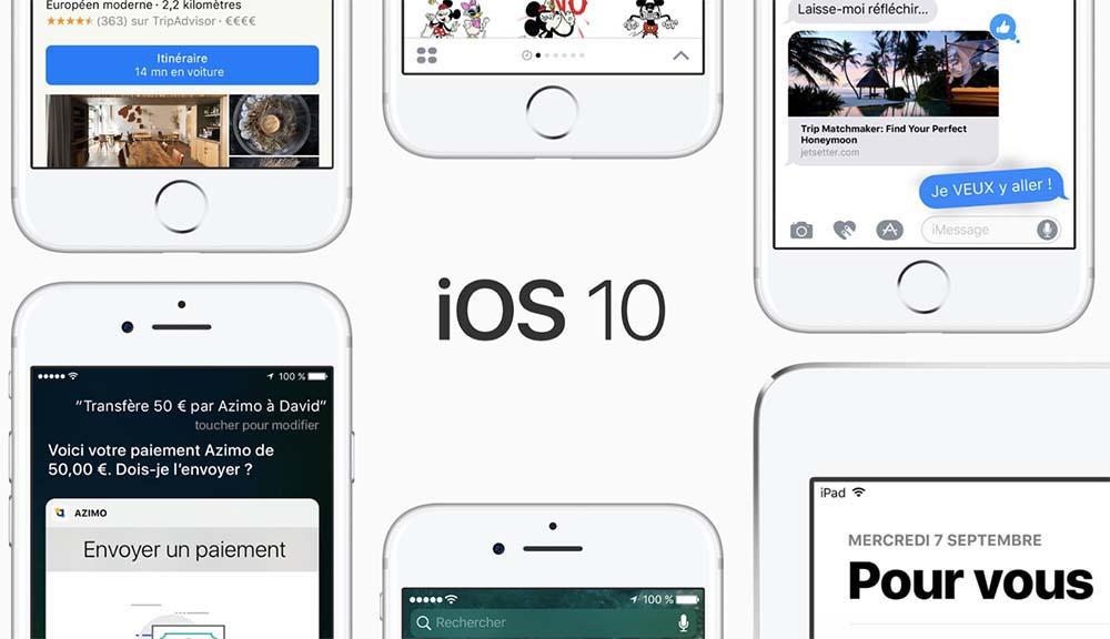 Apple ne signe plus iOS 10.3.1 - Downgrade impossible