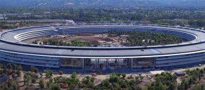 Apple Park : un nouveau survol drone qui offre une vue sur l'intérieur