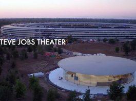 Apple Park : nouveau survol du site et une vue sur l'amphithéâtre Steve Jobs