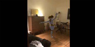ARKit : que diriez-vous d'avoir un robot danseur dans votre salon ? [Vidéos]