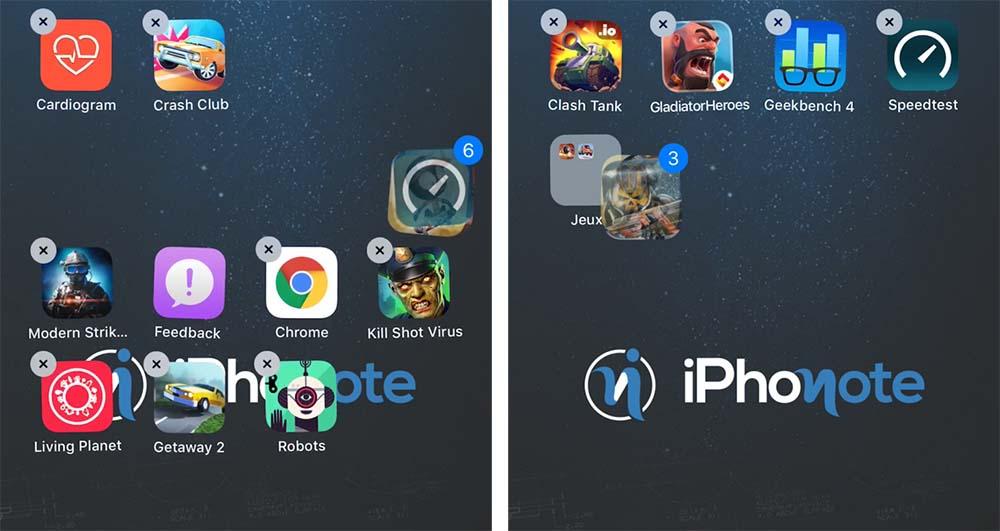 Astuce iOS 11 - Comment déplacer plusieurs icônes à la fois ! [Vidéo]