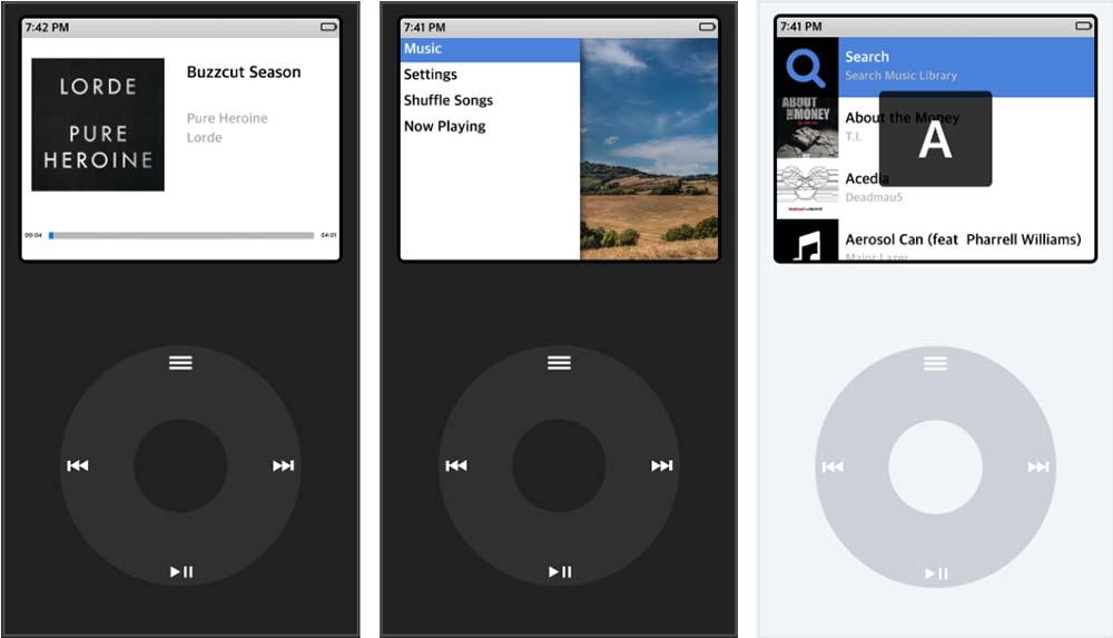 ClassicPlayer transforme votre iPhone en iPod Classic
