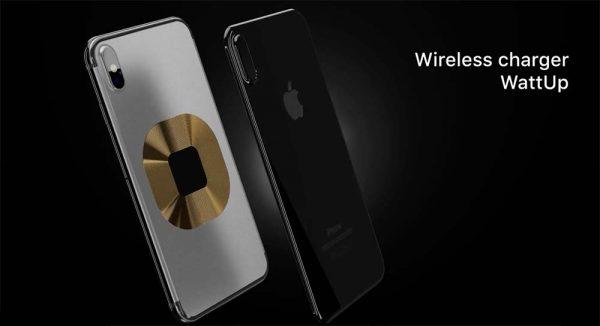 Concept iPhone 8 sous iOS 11 avec la recharge sans fil et plus [Vidéo]