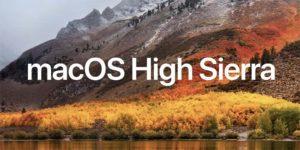Deuxième bêta 2 de macOS High Sierra disponible !