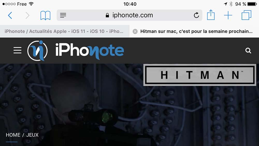 FullSafari affiche les onglets Safari sur iPhone à la manière de l'iPad !