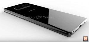 Le Galaxy Note 8, la prochaine star de Samsung en fuite ! [Vidéo]