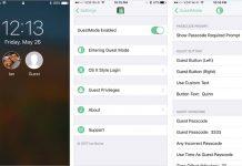 GuestMode 2 : ajout d'un mode invité sur iPhone / iPad jailbreakés sous iOS 10