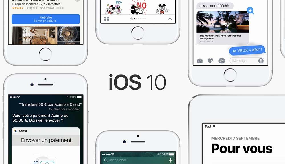 iOS 10.3.3 bêta 5 est disponible pour les développeurs