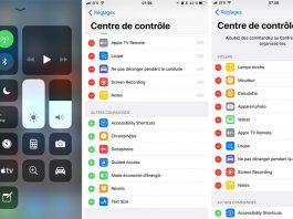 iOS 11 - Centre de contrôle : nouvelle interface, compatible 3D Touch et nouvelles options
