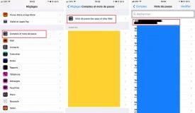iOS 11 - Comptes et mots de passe : le trousseau iCloud devient « visible » sur iPhone