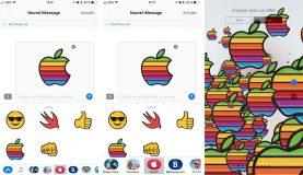 iOS 11 - iMessage : des nouvelles animations et un accès aux autocollants amélioré