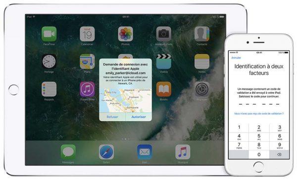 Sous iOS 11 et Mac OS High Sierra, l'authentification à deux facteurs devient obligatoire