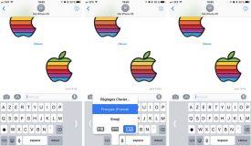 iOS 11 permet d'utiliser le clavier à une main sur iPhone