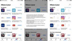 iOS 11 : petite mise à jour discrète de l'App Store