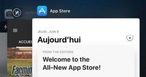 iOS 11 - une petite nouveauté dans le Dock Multitâche !