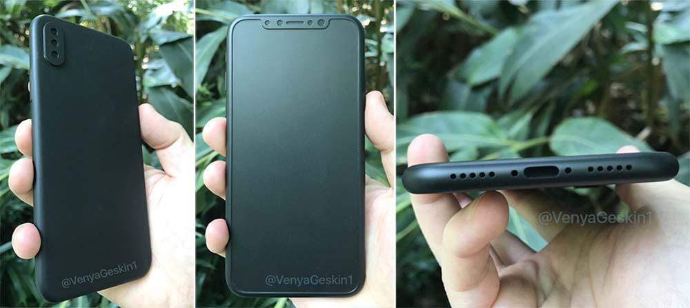 iPhone 8 : de nouveaux éléments en fuite (moules, maquette 3D, verre trempé)