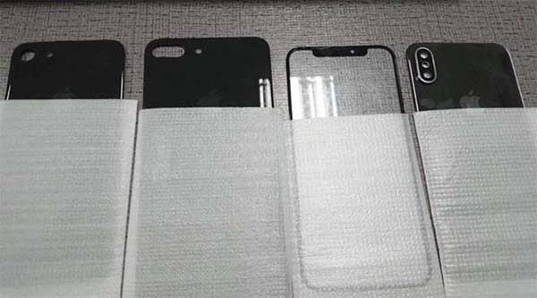 iPhone 8 / iPhone 7s : les faces avant et arrière dévoilées en photos !