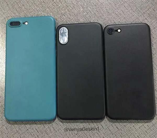 iPhone 8 / iPhone 7s (Plus) : de nouvelles fuites des présumées coques ! [Photos]