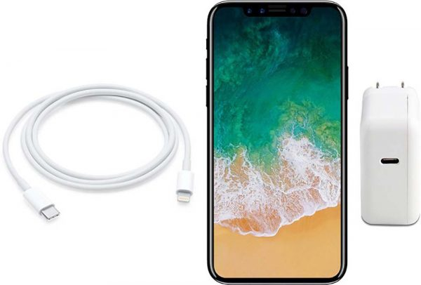 iPhone X 2018 pourrait intégrer la recharge rapide USB-C