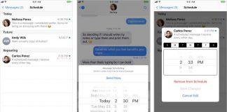 Kairos 2 permet de programmer des SMS par date et heure