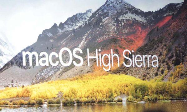 Apple mise sur l'optimisation et les performances — MacOS High Sierra