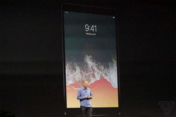 Après iOS 11, Apple annonce son nouvel iPad Pro 10,5 pouces à la WWDC17.