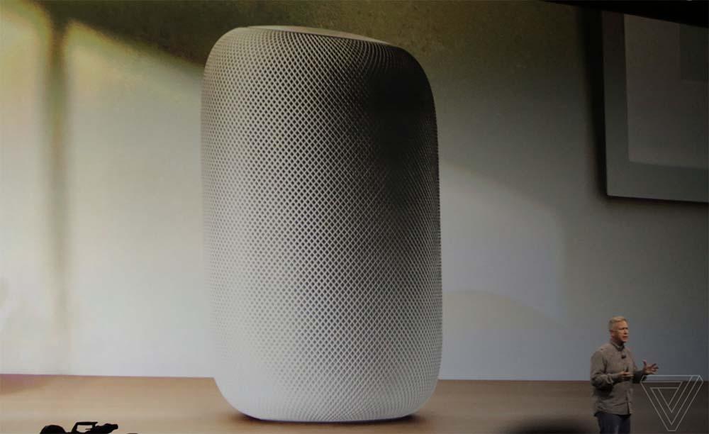 One Last Thing ! L'enceinte connectée est officielle, voici le HomePod ! #WWDC17