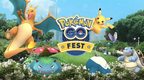 Un premier anniversaire estival sous le signe de la fête — Pokémon GO