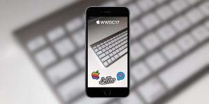 Snapchat, un filtre géolocalisé à l'occasion de la WWDC17 !