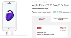 #Soldes : iPhone 7 32Go / 256Go, iPhone 6 64Go à partir de 476€, Clé Lightning 32Go