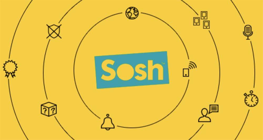 Sosh prolonge son offre de 40Go d'internet à 9,99€/mois pendant 1 an