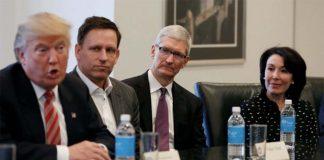 Tim Cook participera à l'American Technology Council de Donald Trump