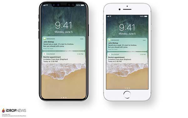 Voilà ce que pourrait donner iOS 11 sur iPhone 8 !