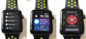watchOS 4 : nouveau multitâche, liste des apps, nouveaux cadrans, lampe torche