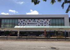WWDC 2017 : le McEnery Convention Center se met aux couleurs de la conférence
