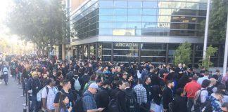 #WWDC2017 : le McEnery Convention Center commence à se remplir !