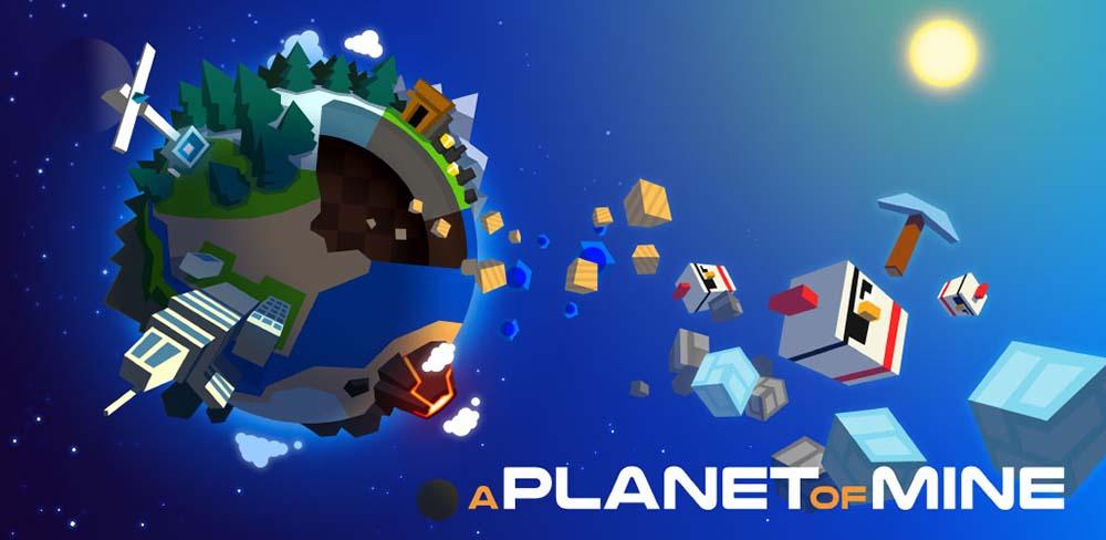 A Planet of Mine maintenant disponible sur l'App Store !