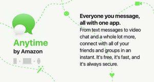Amazon travaille sur Anytime, un nouveau service de messagerie pour iOS et Android
