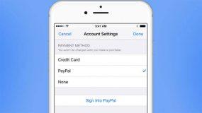 Apple permet maintenant de payer avec PayPal au Royaume-Uni et en Australie