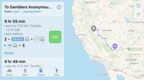 Apple Plans : les transports en commun disponibles dans le Nevada